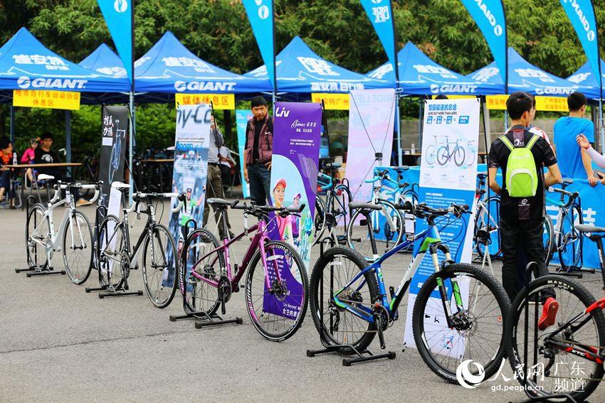第二届广东绿道自行车赛总决赛(广州站)开赛【组图】