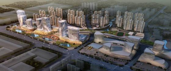佛山南庄地�_佛山南庄城市建设:立体交通激活力,旧城新区同发展