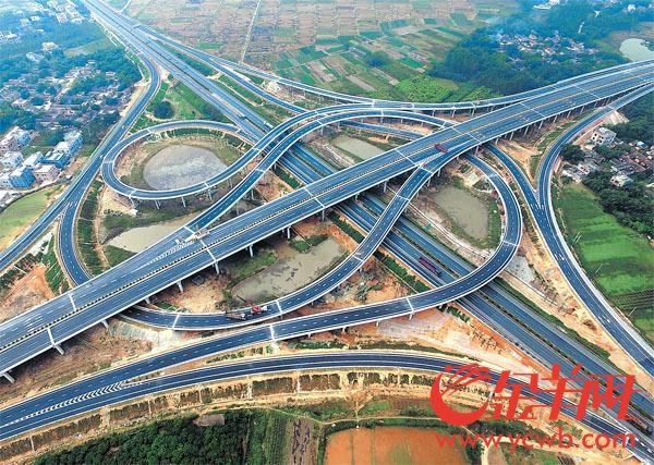 广东6条新高速公路同日开通 广州到湛江可省2小时