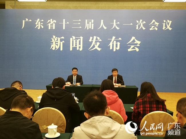 广东省十三届人大一次会议1月25日召开 制定2