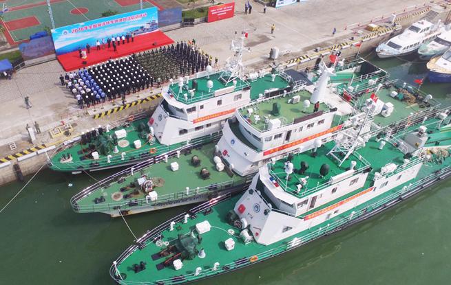 全国海洋伏季休渔 广东开展海上执法巡航