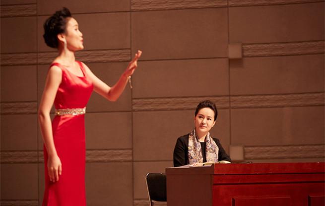 """""""与雷佳一起唱""""学术交流活动在广州星海音乐学院举行"""