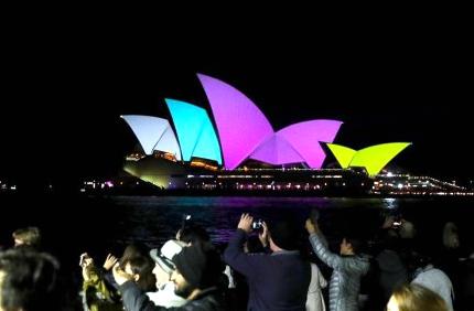 缤纷悉尼灯光音乐节