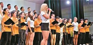 匈牙利合唱团访问广州
