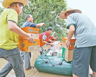 做好灾后救助 有序恢复重建