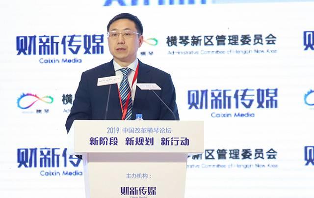 横琴新区管委会主任杨川:探索面