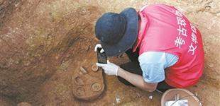 广州黄埔沙岭发现100多座先秦墓