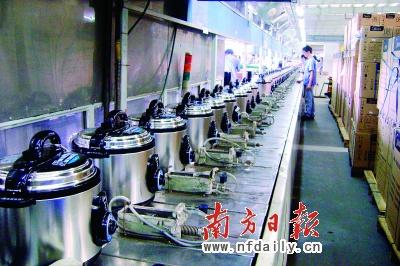 顺德电压力锅产能占全国七成