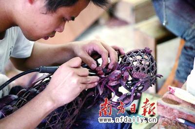 潮州木雕:精雕出富贵 细刻出雅致