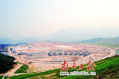 广州亚运赛马场已完工六成 将成为全国最大