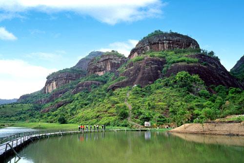 广东梅州津坑风景区