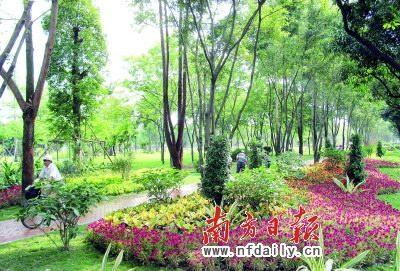 建设成自然,生态的开放式城市公园,将成为广州市中心景观新焦点.