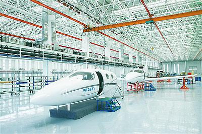 珠海飞机制造基地建设加速