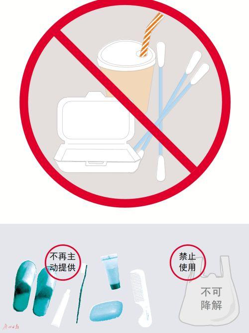 广州来岁起克制出产销售一次性发泡塑料餐具